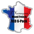 L'Hexagone Mixed French Red 6-Pack