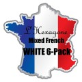 L'Hexagone Mixed French White 6-Pack