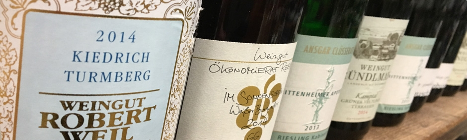<p>German Riesling Galore</p>